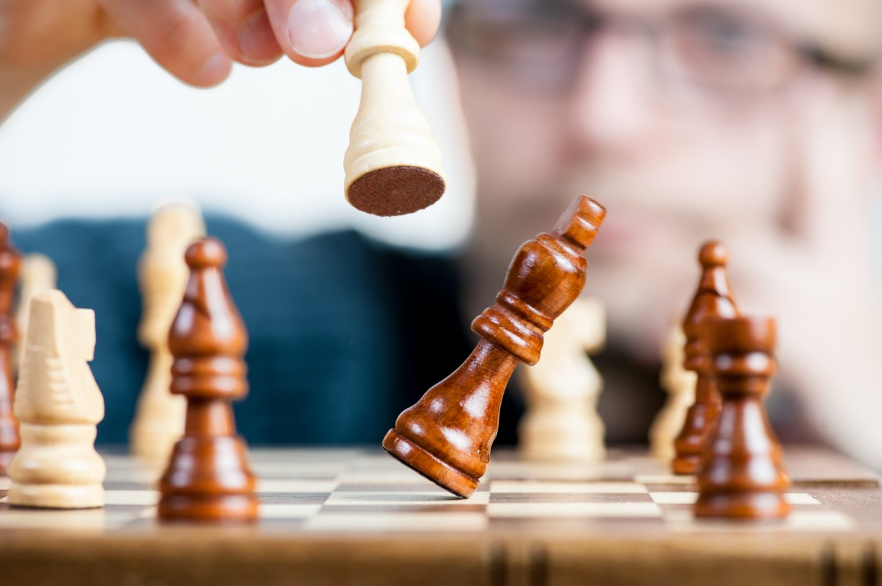 Resilience chess player intelligence