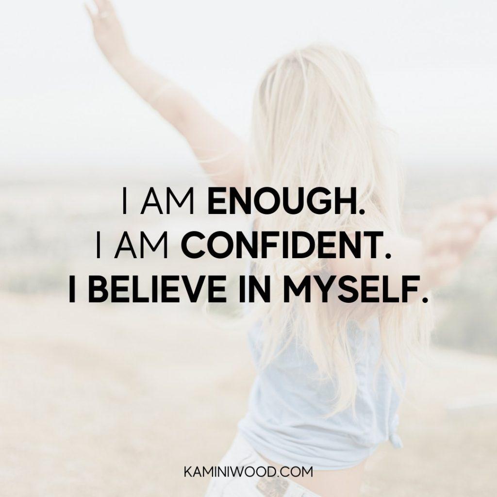 Self Worth Affirmations