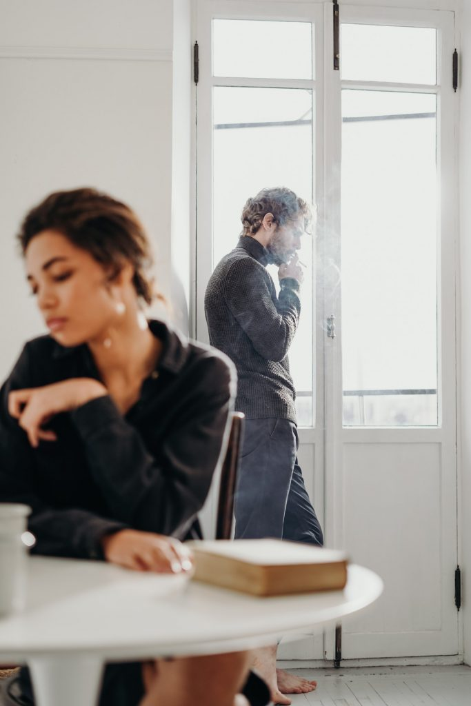 toxic relationships man and woman not talking