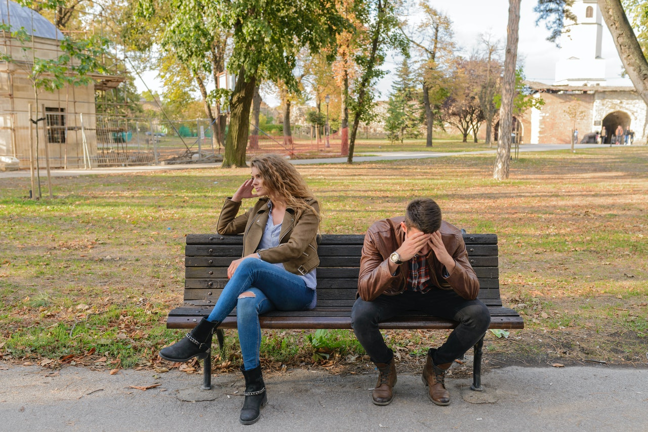 toxic relationships couple fighting