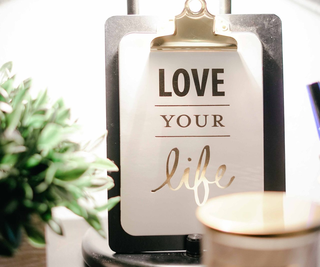 right life coach love your life sign