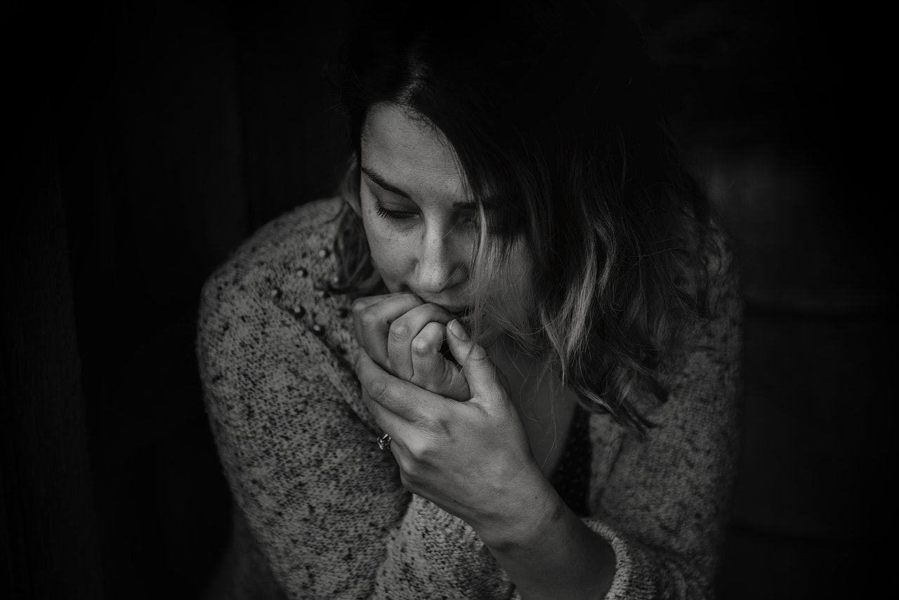 Eating Disorders Woman stressed
